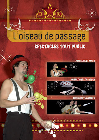 L'oiseau de passage - Flyer recto